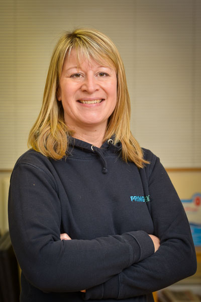 Sarah, Centre Manager, physiotherapy cambridgeshire